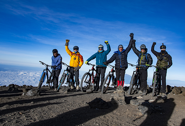 On October 4-8, 2019 SMI founder Kurt Wedberg led a group of intrepid mountain bikers to the summit of Kilimanjaro.