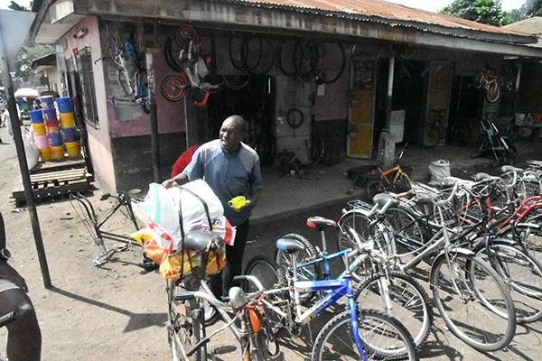 Tanzanian Bike Shop