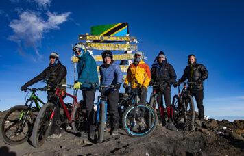 Kilimanjaro MTB Summit Sign