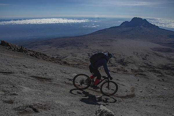 MTB Kilimanjaro descent