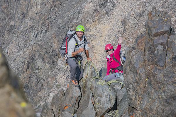 Tristan Sieleman Guiding Devils Crag