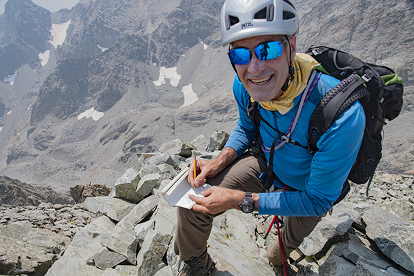 Bill Carpenter summit of Devils Crag