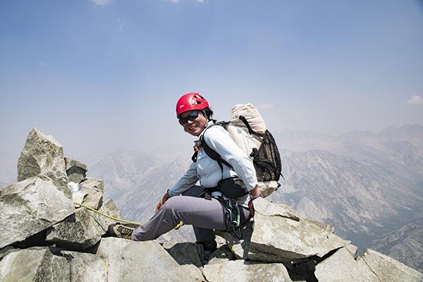 Linda Sun summit photo