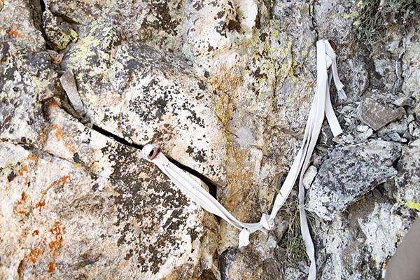Sketchy anchor on Devils Crag