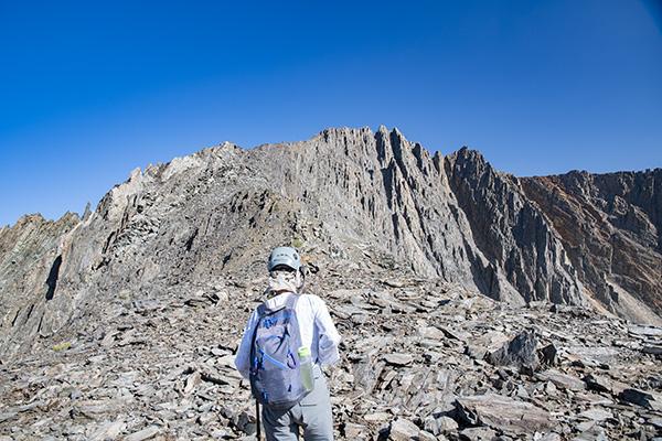 Wheel Mountain from Rambaud Pass