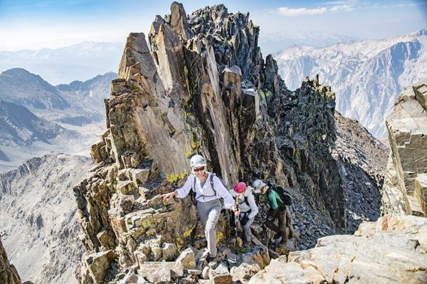 Summit pinnacles on Wheel Mountain