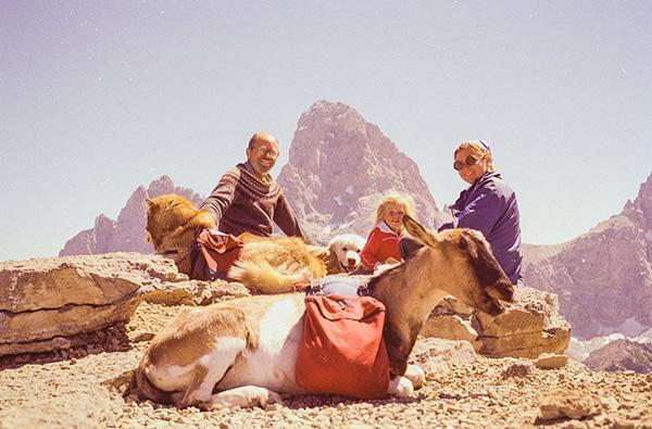 Hjordis Rickert in the Tetons