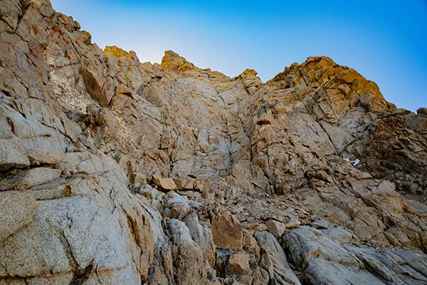 Upper NW Ridge of Mt. Humphreys