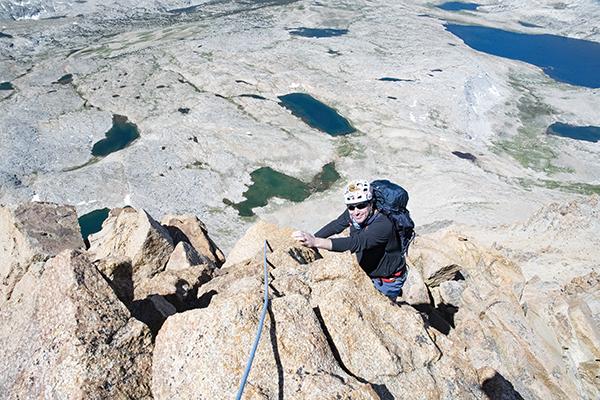 High on Mt. Humphreys NW Ridge