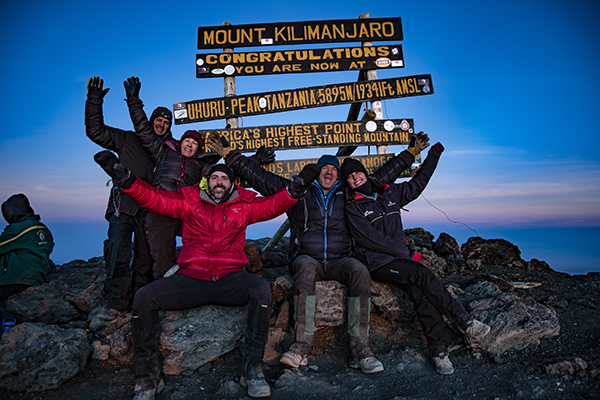 Kilimanjaro Summit Photo