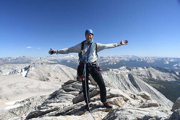 Kurt Wedberg, Mt. Conness North Ridge Summit
